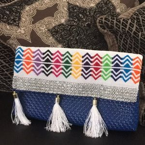 Mexican Hand made Clutch Purse